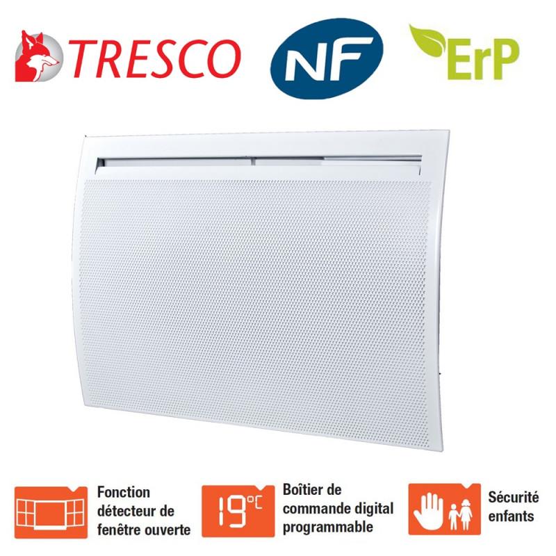Panneaux rayonnants électriques 300W à 2000W Azuréo Tresco