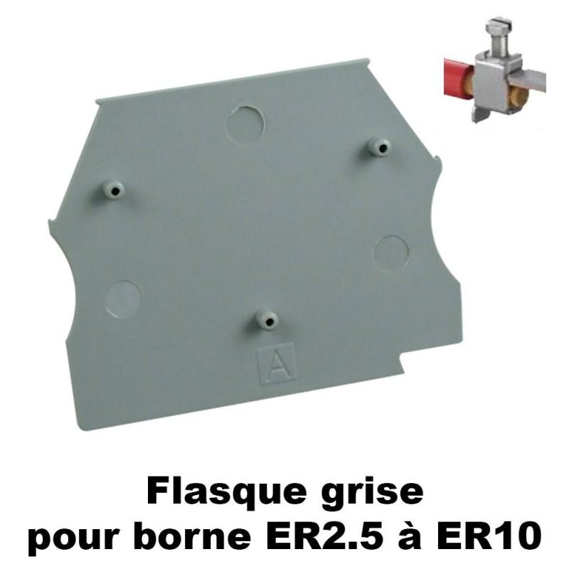 Flasque pour bornes ER2.5 à ER10