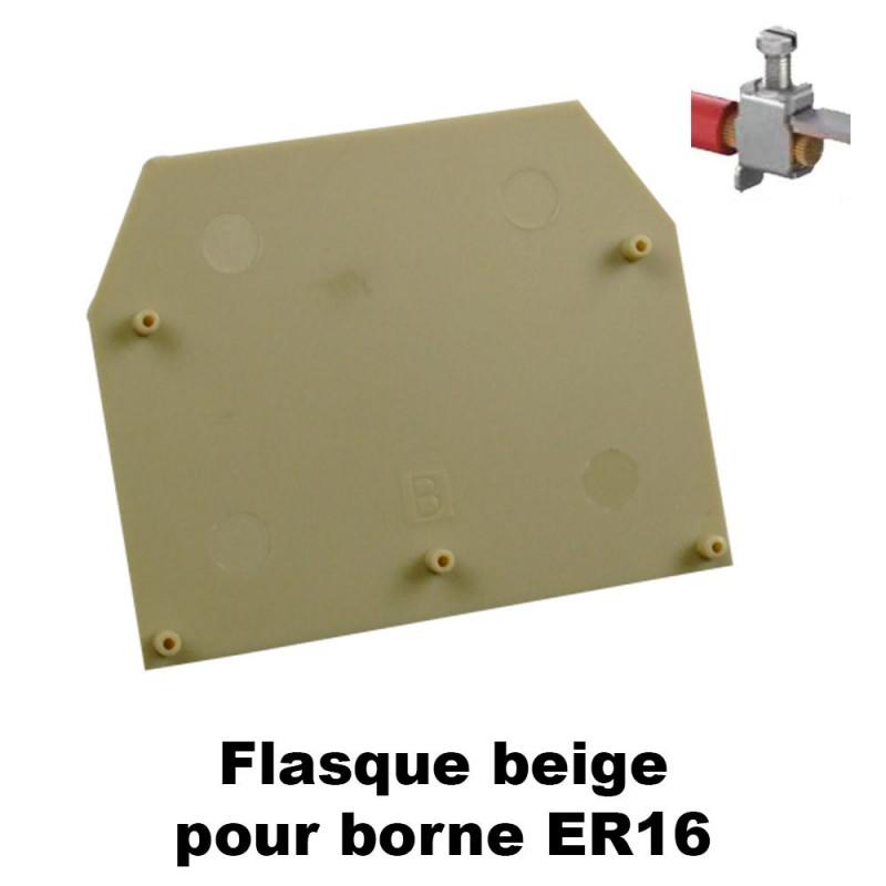 Flasque pour bornes ER16