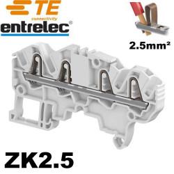 Bloc de jonction SNK PI-Spring 2.5mm², 4 connexions auto