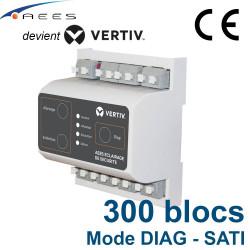 Télécommande pour BAES mode DIAG TEL300 Connect Vertiv