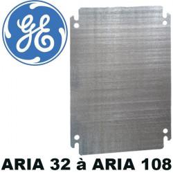 Plaque de montage pour coffret polyester ARIA