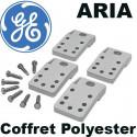 Pattes de fixation pour coffret Polyester ARIA General Electric