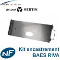 Kit d'encastrement pour bloc d'ambiance anti panique BAES Vertiv