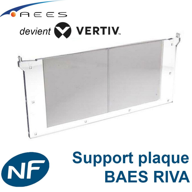 Support plaque verticale pour BAES RIVA