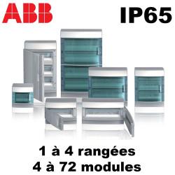 Coffret étanche IP65 Mistral ABB