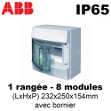 Coffret étanche IP65 Mistral ABB ABB