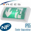 Bloc autonome étanche IP65 à LED