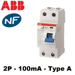 Interrupteur différentiel F202 Type A ABB