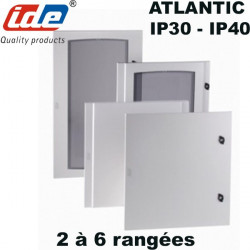 Porte pour armoire de distribution ATLANTIC IP30 / IP40