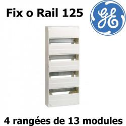 Tableau électrique divisionnaire General Electric Fix o Rail 125 (13 modules) General Electric