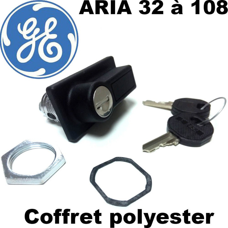 Serrure pour armoire polyester ARIA General Electric General Electric
