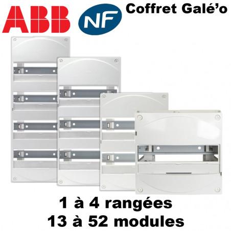 Tableau électrique divisionnaire Galé'o (13 modules)