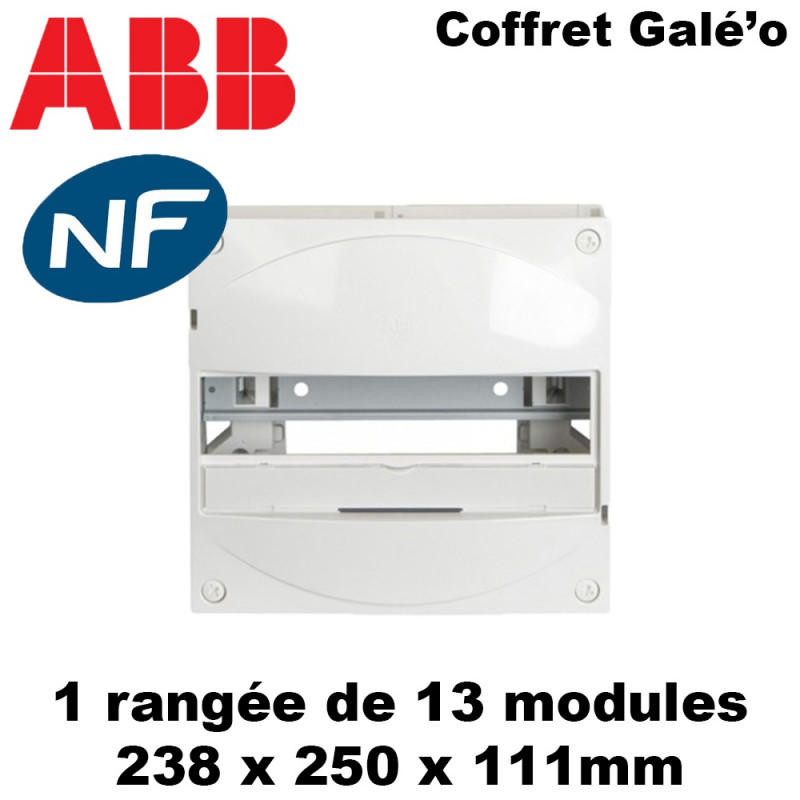 Tableau électrique divisionnaire Galé'o (13 modules) ABB