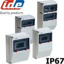 Coffret électrique extérieur étanche IP67 pour prises - IDE PRYMA