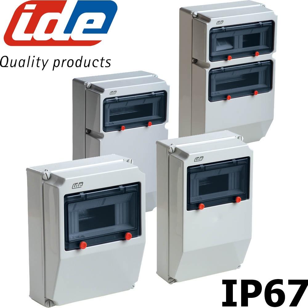 Coffret électrique Extérieur étanche IP67 Pour Prises   IDE PRYMA
