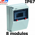 Coffret électrique extérieur IP67 8 modules