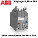 Relais thermique pour contacteur 9A à 25A ABB