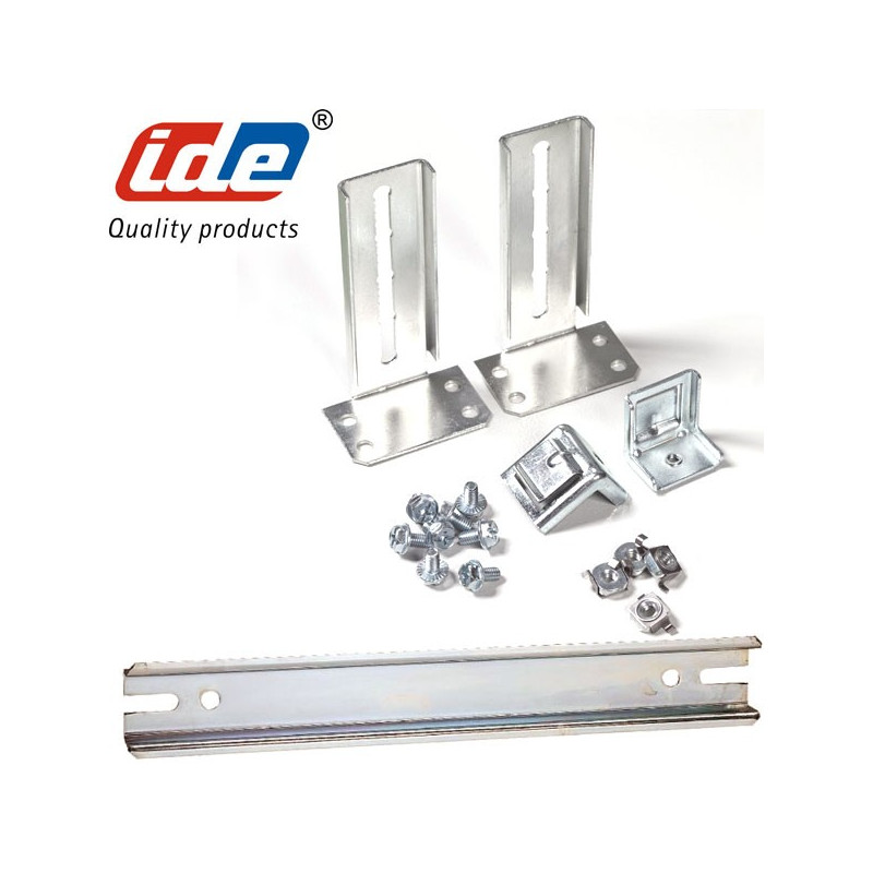 Kit RAIL DIN pour armoire ATLANTIC plus 24 MODULES + Support fixation IDE