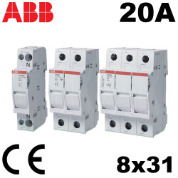 Porte fusible 8x31 20A- ABB