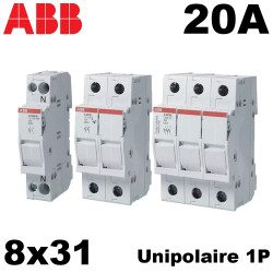 Porte fusible 8x31 20A- ABB ABB