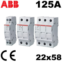 Porte Fusible 22x58 125A - ABB