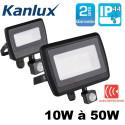 Projecteur LED extérieur IP44 Kanlux avec détecteur de mouvement