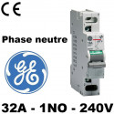 Interrupteur modulaire 32A 1-2NO 240V-415V General Electric