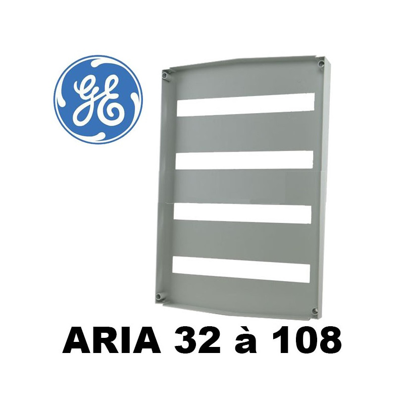 Plastron modulaire pour coffret polyester GE Aria General Electric