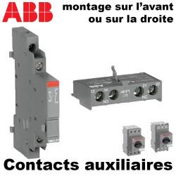 Bloc de contact auxiliaire pour disjoncteur moteur ABB
