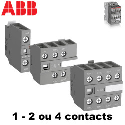 Bloc de contact frontal 2 ou 4 contacts pour contacteur ABB ABB