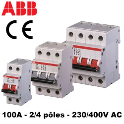 Interrupteur sectionneur 100A ABB