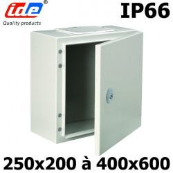 Coffret électrique étanche IP66 en métal IDE Argenta IDE