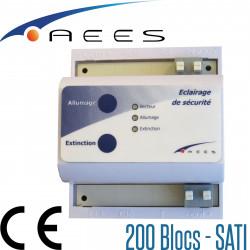 Télécommande pour BAES SATI modèle telASTUS fabriqué par AEES