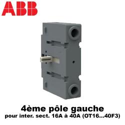 Inter sectionneur 3 à 4 pôles de 16A à 125A - OT16 à 125A ABB