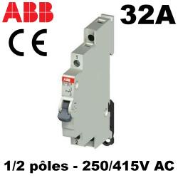 Interrupteur modulaire 32A 1-2NO 240V-415V ABB