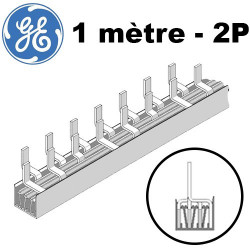 Peigne phase neutre 1 mètre 56 modules General Electric