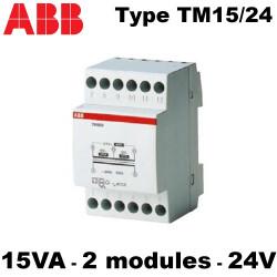 Transformateur de sonnerie type TM15/24 230V - 15VA