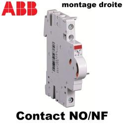 Contact NO NF auxiliaire inverseur standard pour S200 ABB