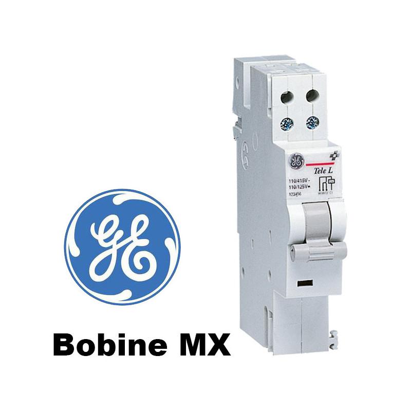 Bobine déclencheur à émission de tension (bobine MX) GE General Electric