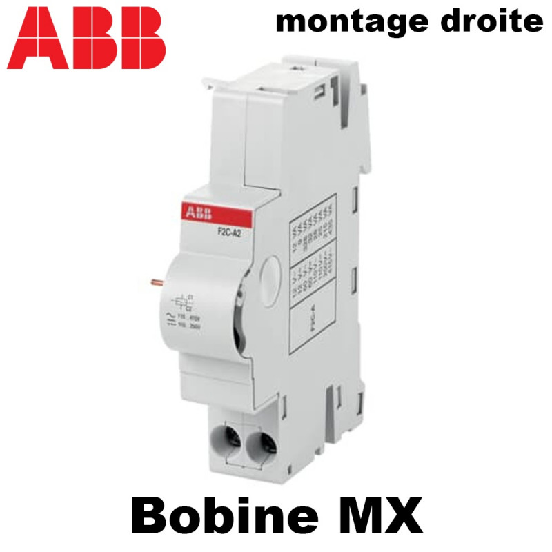 Bobine déclencheur à émission de tension (bobine MX) ABB