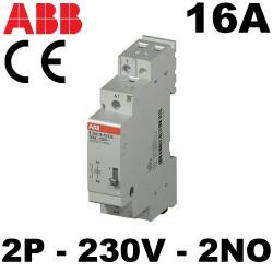 Télérupteur bipolaire 16A 230V ABB ABB