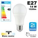 Ampoule LED E27 équivalent 100W 1520lm Blanc Neutre 15,000h Kanlux
