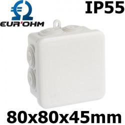 Boite étanche de dérivation résistant 650°C IP55 Eurohm Eur'Ohm