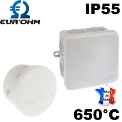 Boite étanche de dérivation résistant 650°C IP55 Eurohm