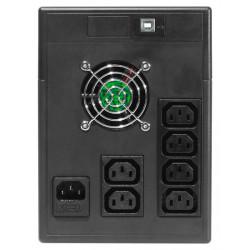 Onduleur line interactive 600/2000VA - 360/1200W - Net power Riello UPS