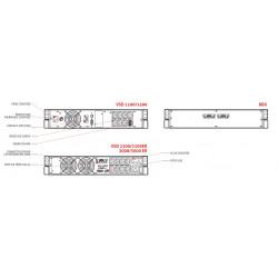 Onduleur tower & rack 1100/3000VA - line interactive - Vision Dual Riello UPS