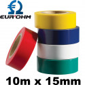 Ruban isolant pour électricien 10m x 15mm