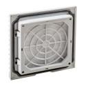 Grille avec filtre IP54 pour coffret métallique ou polyester IDE