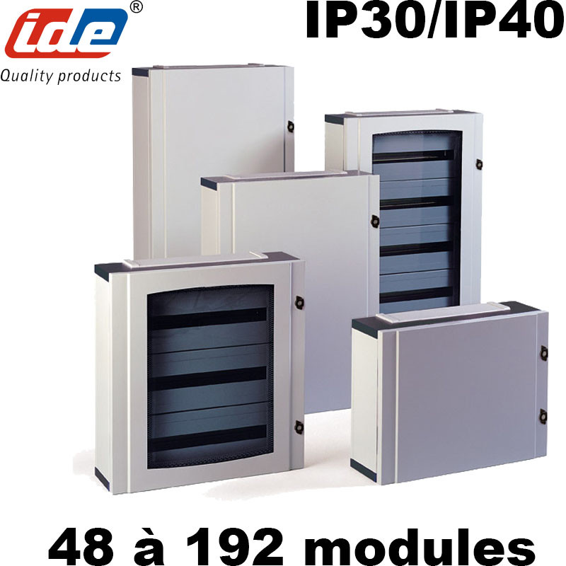Armoire de distribution ATLANTIC IP30/IP40 IDE